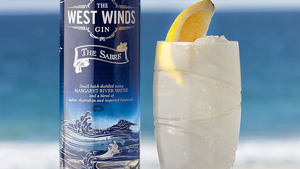 The West Winds Gin elderflower Collins