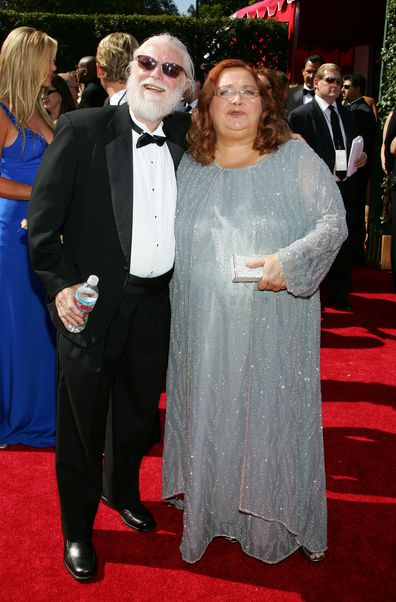 Actress Conchata Ferrell and husband Arnie Anderson