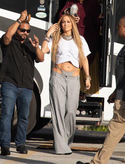 Jennifer Lopez in Miami Beach, Florida. November 2018