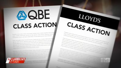 Law firm launches Australia's first class action against insurance company.