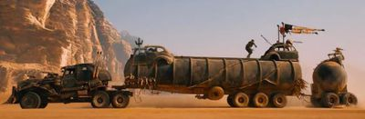 The War Rig: Prime Mover Including Tanker and Ball Pig-Trailer
