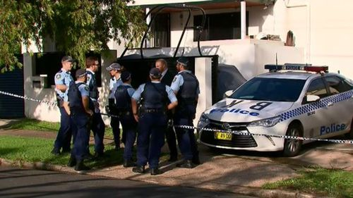 A man has been hit by two bullets after being shot at as he reversed out of his Sydney driveway. (9NEWS)