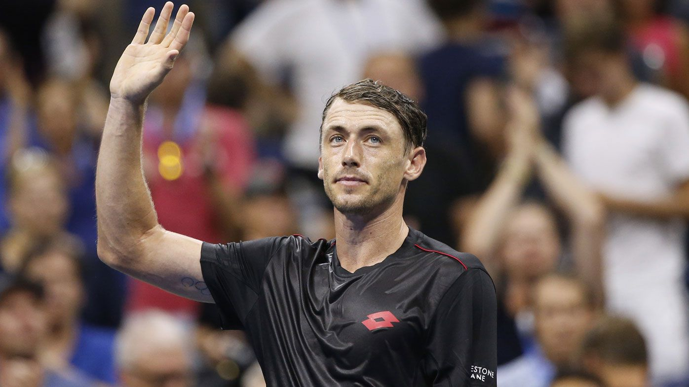 John Millman to answer SOS call from Australian Davis Cup team