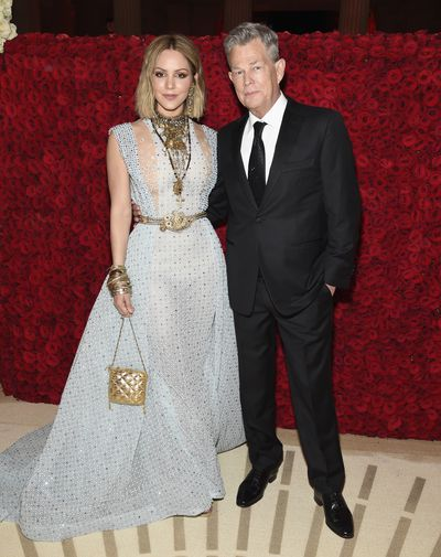 Singer and actressKatharine McPhee and music producer David Foster