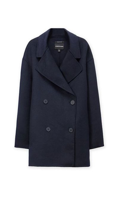 """<a href=""""http://www.countryroad.com.au/shop/woman/clothing/jackets-and-coats/60178254/Double-Breasted-Coat.html""""> Double-Breasted Coat, $399, Country Road</a>"""
