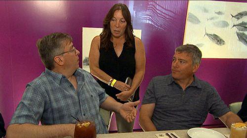 Doug Rausch, Howard Burack and Sharon Morello. (ABC News)