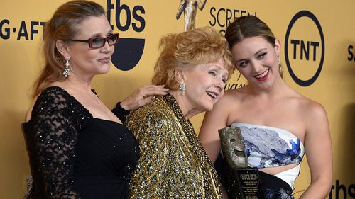 Billie Lourd breaks silence on deaths of mother Carrie Fisher and grandmother Debbie Reynolds