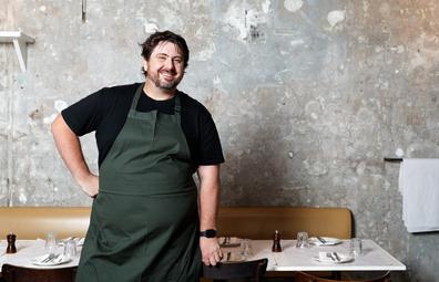 Mike Eggert, chef at Totti's Bondi and Bar Totti's