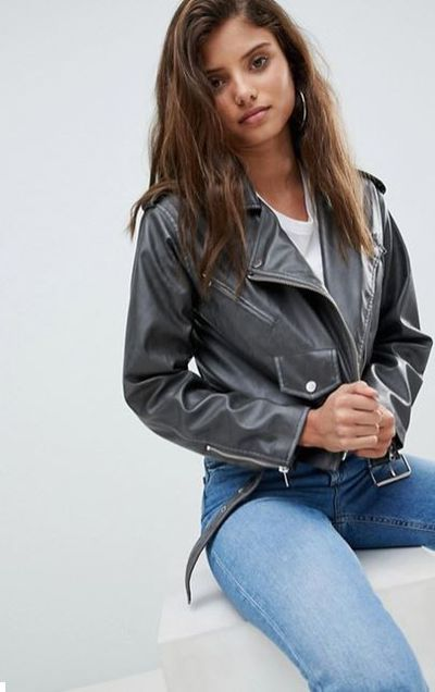 """<a href=""""http://www.asos.com/au/asos/asos-leather-look-washed-biker-jacket/prd/8807216?clr=grey&SearchQuery=womens%20leather%20jackets&gridcolumn=4&gridrow=4&gridsize=4&pge=1&pgesize=72&totalstyles=300"""" target=""""_blank"""" draggable=""""false"""">ASOS Leather Look Washed Biker Jacket in Grey, $89</a>"""