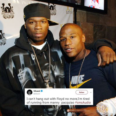<strong>50 CENT VS FLOYD MAYWEATHER</strong><br />