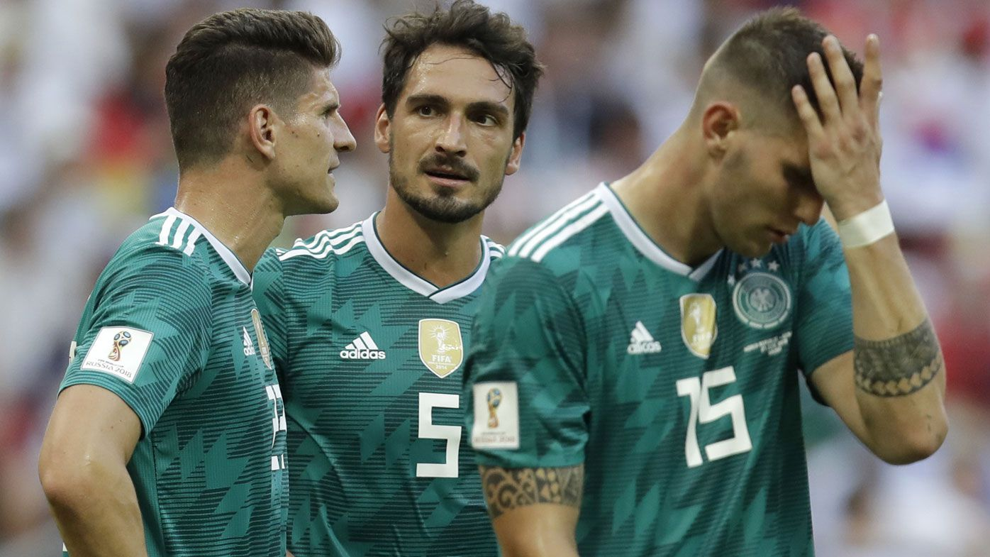 Germany out of World Cup after shock loss to South Korea