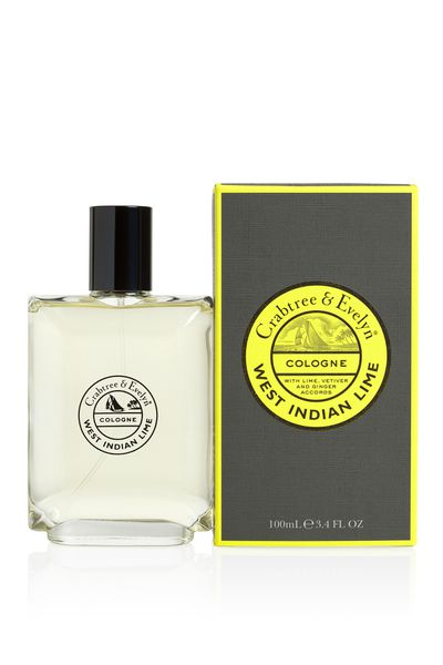 "<p><a href=""http://www.crabtree-evelyn.com.au/p-1055-west-indian-lime-cologne-100ml.aspx"" target=""_blank"">Crabtree & Evelyn West Indian Lime Cologne (100ml), $60.</a></p> <p>This deeply sophisticated scent is inspired by the steamy and tropical West Indies. It feature notes of fresh limes, vetiver, nutmeg, ginger and coriander and blended with deep base notes of woody musk.</p>"