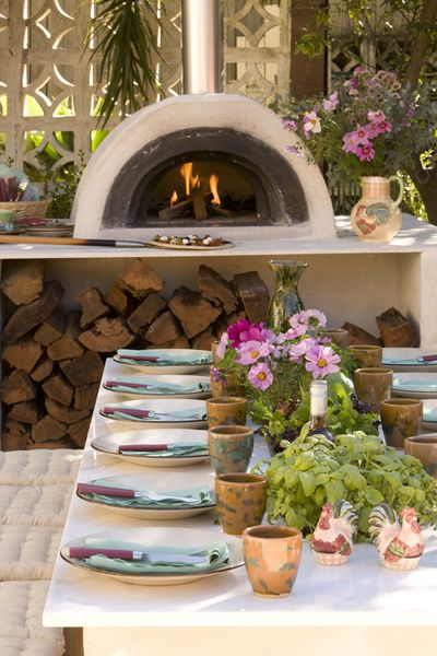 3. Outdoor kitchens