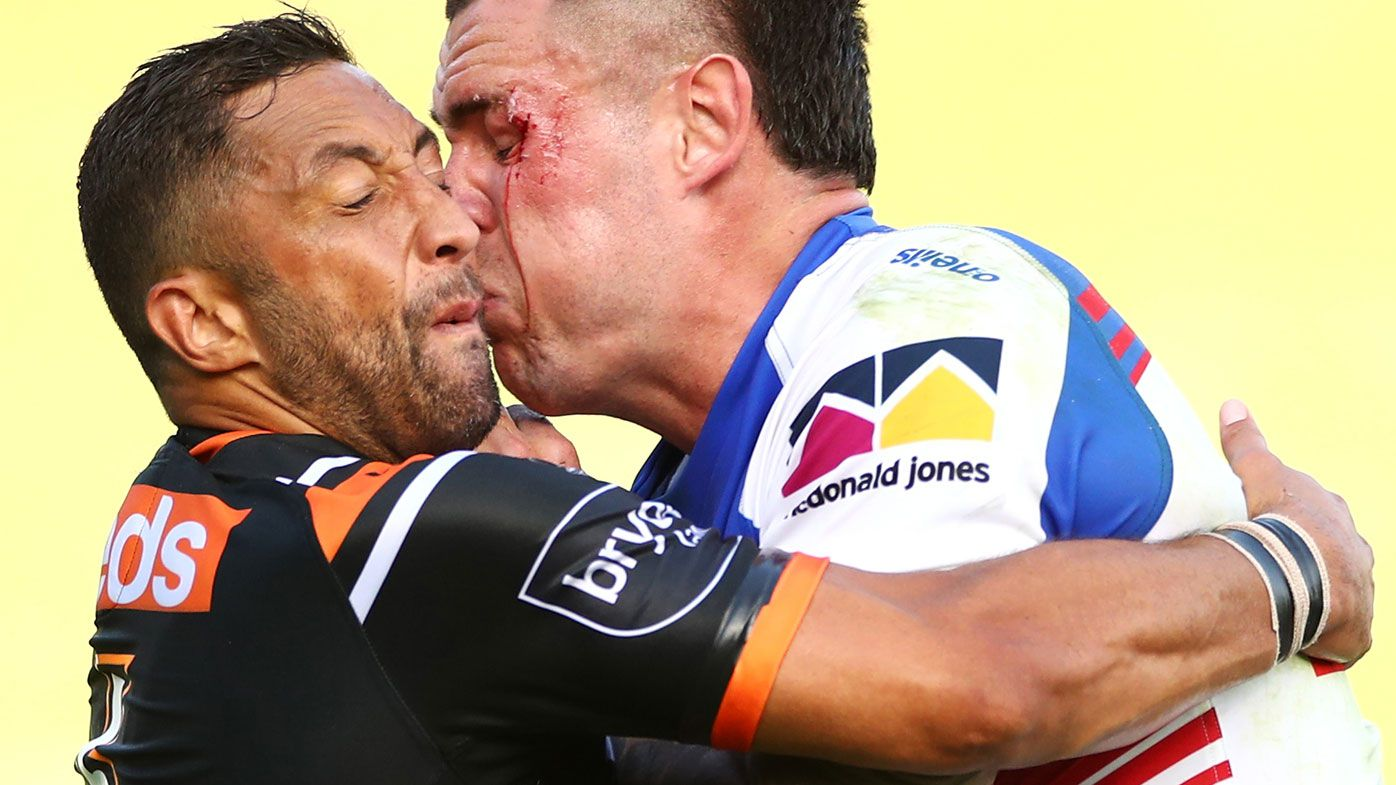 Wests Tigers coach Michael Maguire blasts players' attitude in loss to Knights
