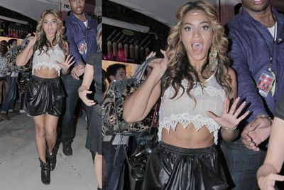 When Beyoncé hits, she hits hard, and when she misses, she looks like she just stepped into a garbage bag.<br/><br/><i>Beyoncé Knowles at Coachella Festival 2010<br/>Image: RAMEY PHOTO/Snappermedia </i>