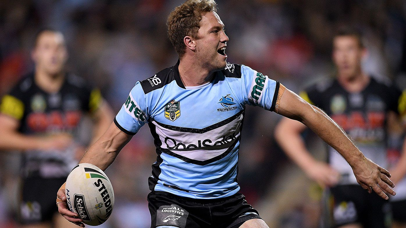 Cronulla Sharks coach Shane Flanagan reveals reason for Matt Moylan's sparkling form