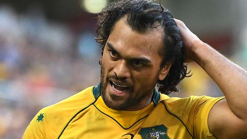 Karmichael Hunt enjoyed a few games for Australia last year and will be hoping to be selected for the 2019 World Cup.