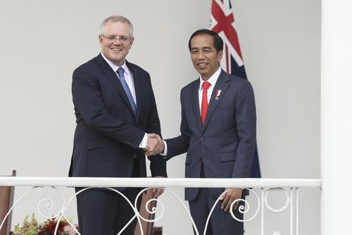 Prime Minister Scott Morrison has met with Indonesian President Joko Widodo for 'incredibly important' talks.