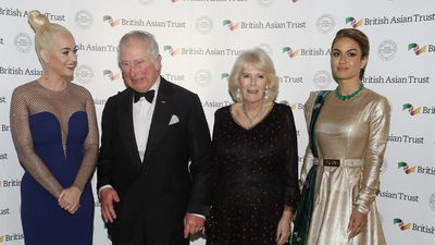 Prince Charles and Camilla with Katy Perry