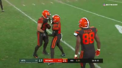 Social media erupts following Baker Mayfield's stunning NFL debut for Cleveland Browns