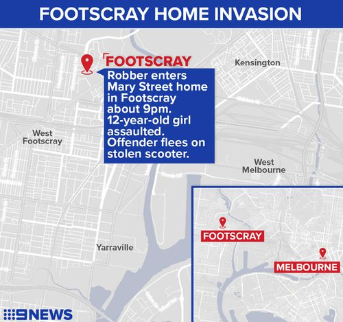 Thug assaults 12-year-old girl during home invasion