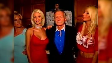 Hefner tells Liz Hayes about his countless girlfriends