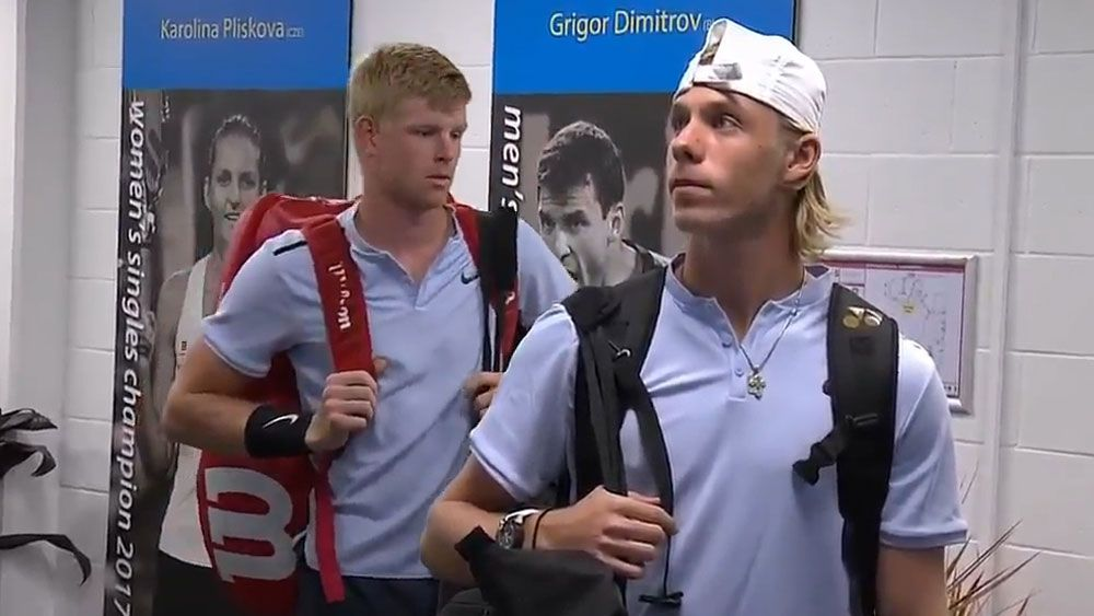 Announcer messes up Canadian tennis star Denis Shapovalov's name at Brisbane International