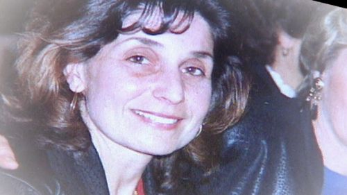 Toula Soravia was shot to death in front of her 17-year-old son.