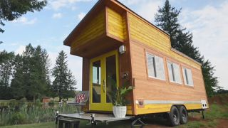 Beachy Bohemian Tiny Home