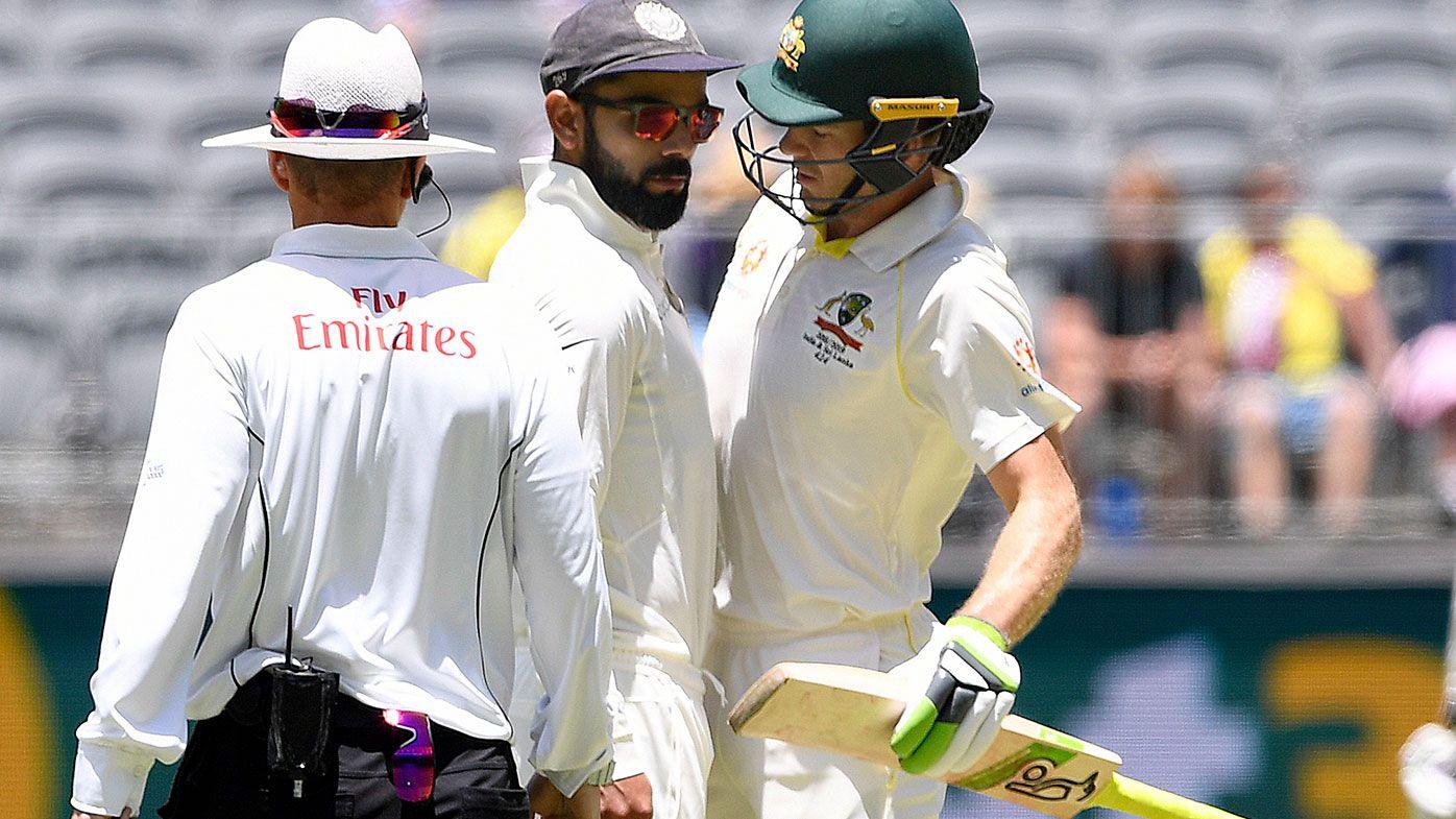 Umpires intervene as Paine-Kohli tensions ignite