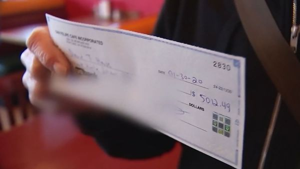 An Oregon restaurant owner has returned an accidental AU$7,000 tip to customer