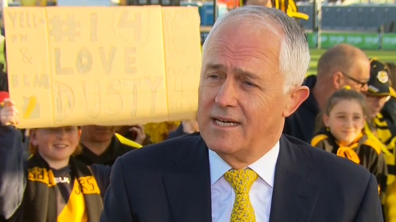 Turnbull has no problem with gay anthem