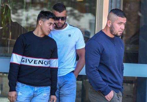 Supporters of Milad Atai were seen exiting the court after the Islamic State supporter was sentenced to at least 28 years jail.