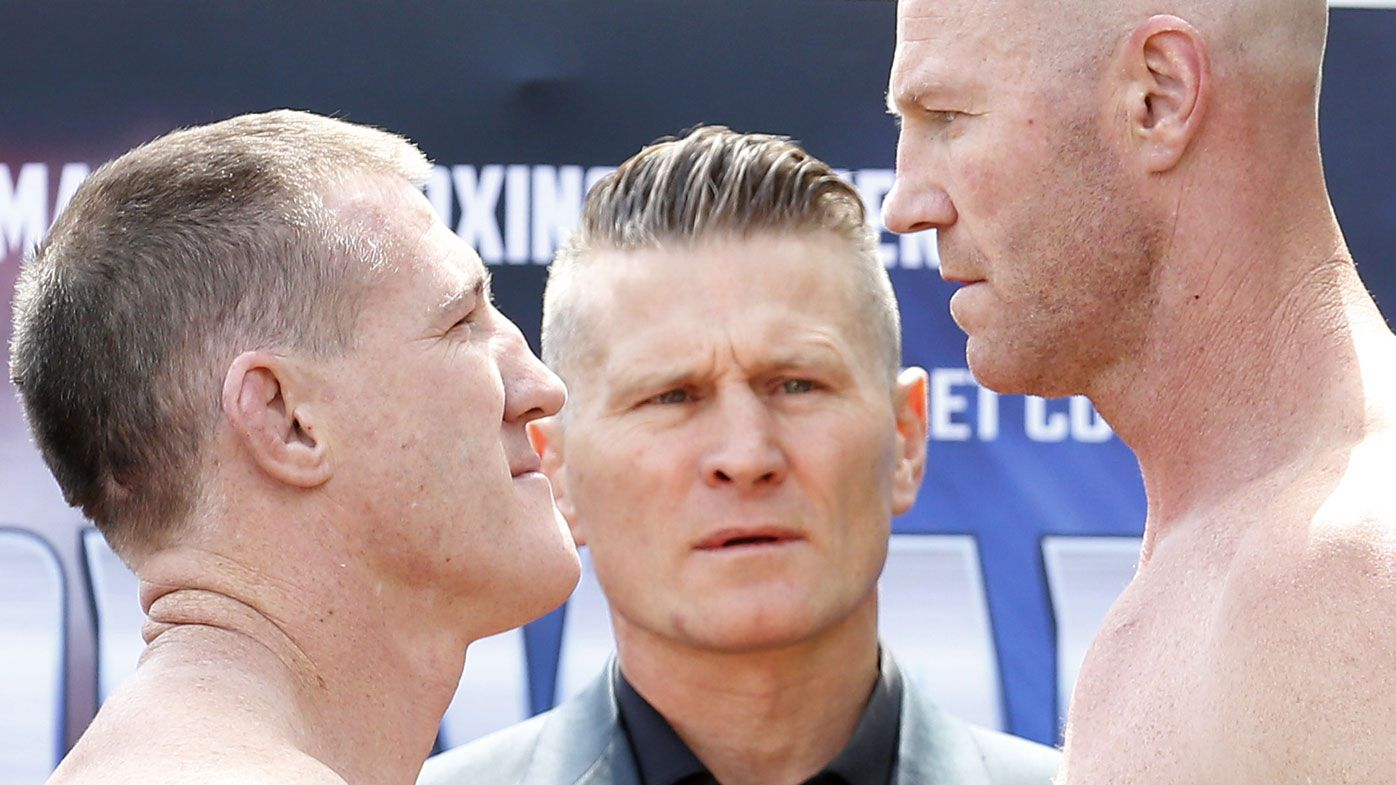 Barry Hall's explosive white line fever still simmering ahead of Paul Gallen fight