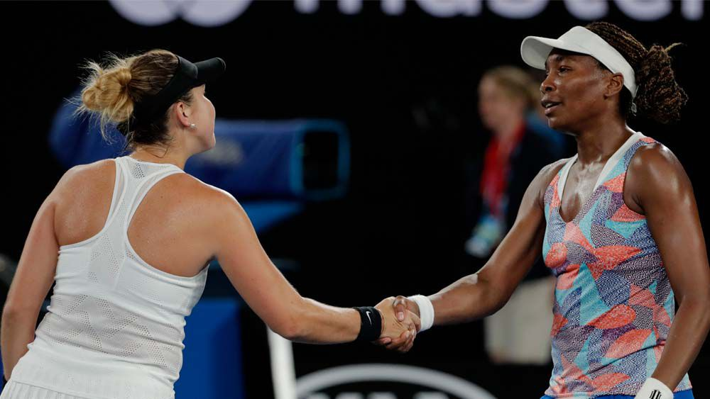 Venus Williams out of the Australian Open