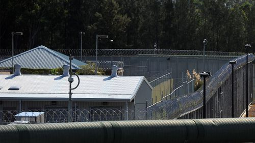 The 54-year-old man was found unconscious in his cell at Silverwater's Metropolitan Reception and Remand Centre in Sydney's west on Friday.  (AAP)