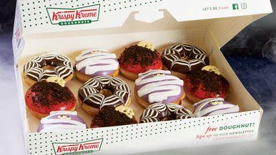 Krispy Kreme drops Halloween range