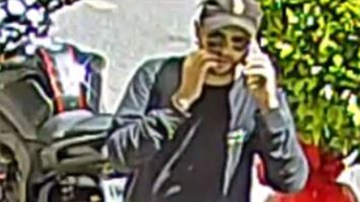 Police are hunting a man following a brazen robbery that targeted an elderly woman in Melbourne's inner east.