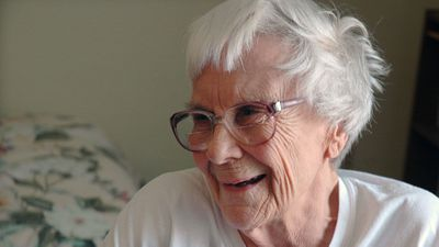 Harper Lee in her assisted living room in Monroeville, Alabama in 2010. There were suggestions that she had been pressured into releasing a book in her late 80s despite always maintaining that she would not follow up To Kill a Mockingbird. (AAP)