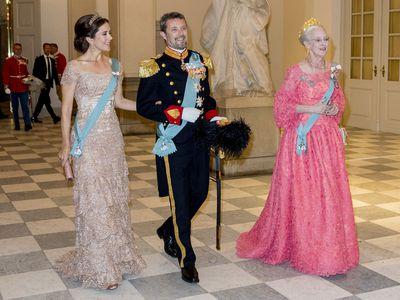 Princess Mary attends Prince Frederik's 50th birthday celebrations