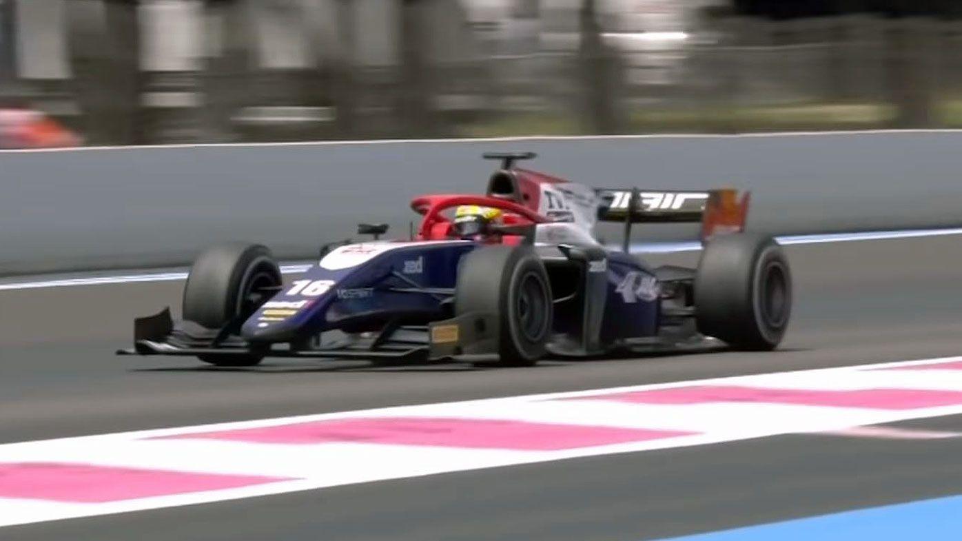 Motorsport: Formula 2 driver Ajun Maini's magnificent dummy spit caught on team radio