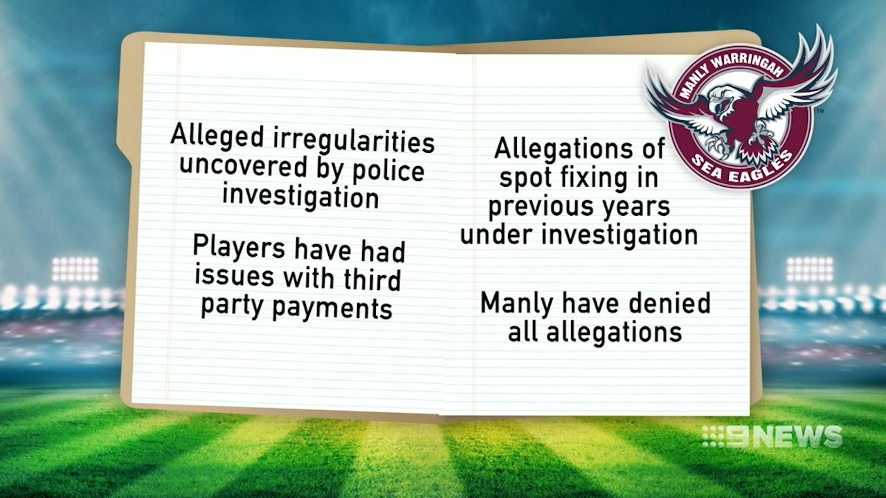 Manly salary cap investigation