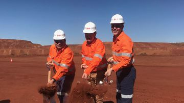 Construction begins on WA's newest billion dollar mining project