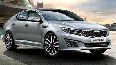 The Kia Optima Si was rated the best value medium car under $45,000, with the Hyundai i40 Active sedan coming second, and the Subaru Liberty 2.5i coming third. (Supplied)