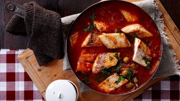 Spicy fish hot pot