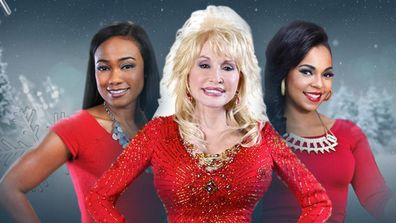 Dolly Parton stars in A Country Christmas.