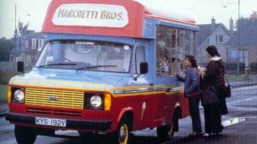 Andrew Doyle worked as a driver for the Marchetti Brothers ice-cream business.