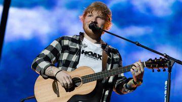 Ed Sheeran concert