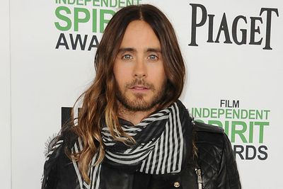Hipster hottie Jared is probably the only man on earth who can pull off the ombre hair trend!<br/><br/>Pic: Getty