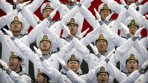 China's military is one of the biggest in the world.